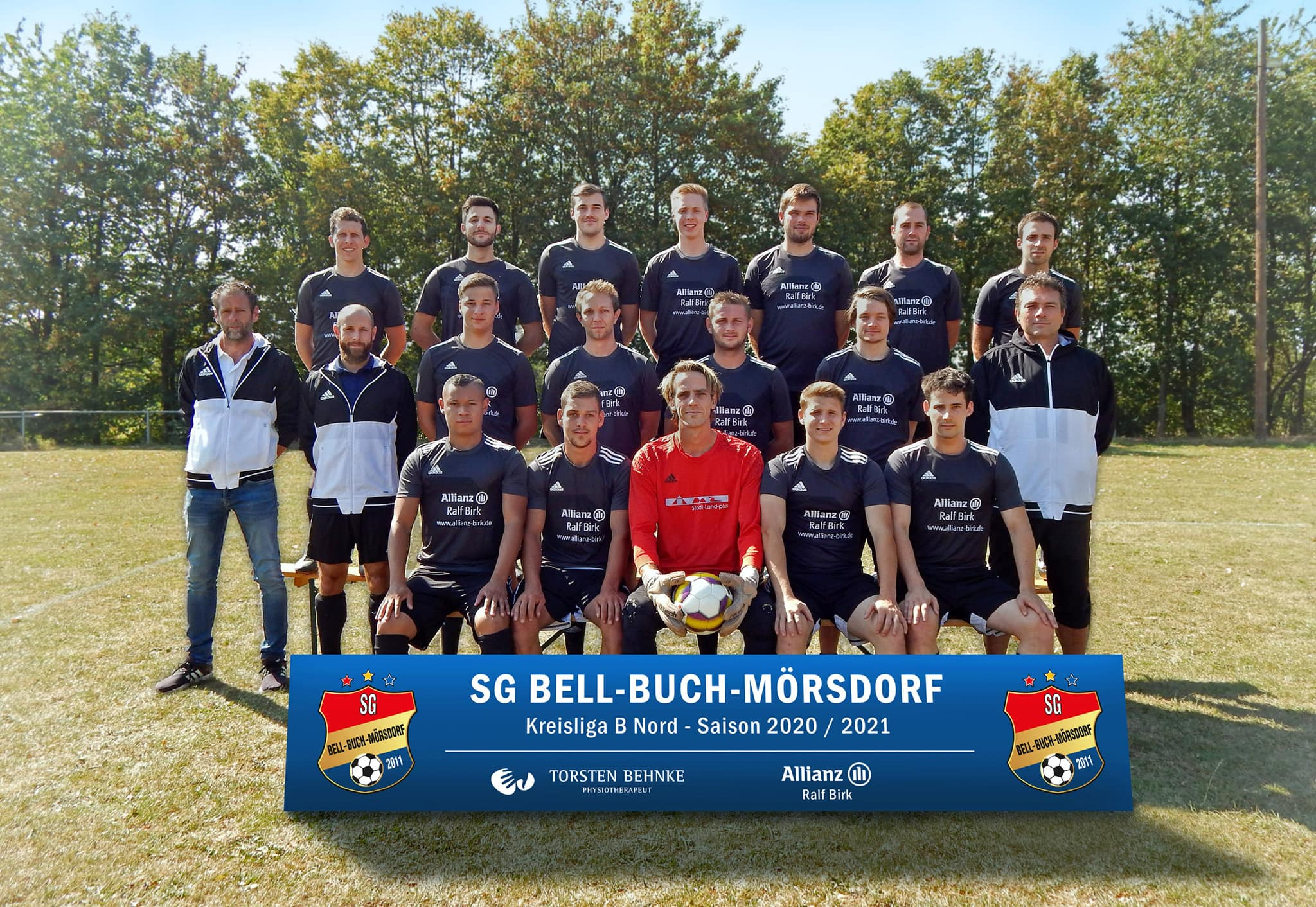 SG Bell-Buch-Mörsdorf Mannschaftsfoto der Saison 2020/21